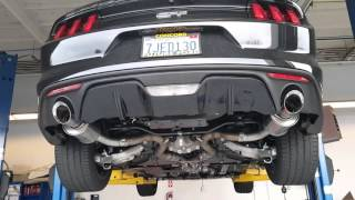 15 Mustang gt ROUSH axleback +CORSA2XPIPE
