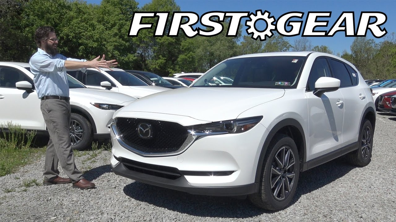 2017 Mazda Cx 5 Grand Touring First Gear Review And Test Drive