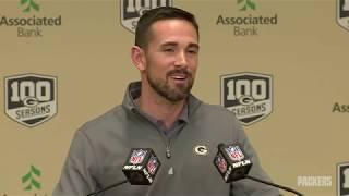 Matt LaFleur's First NFL Draft as Head Coach
