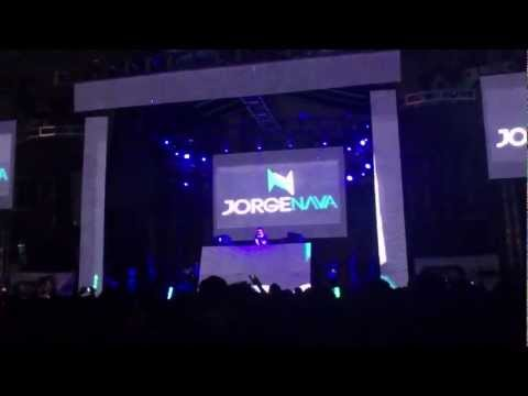 Jorge Nava En Six Flags México (Warm Up Dash Berlin #musicislife 2012)