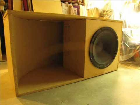 Building a bass scoop bin youtube for Design in a box interior design