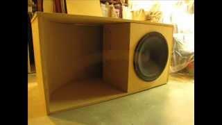 Building a Bass Scoop bin