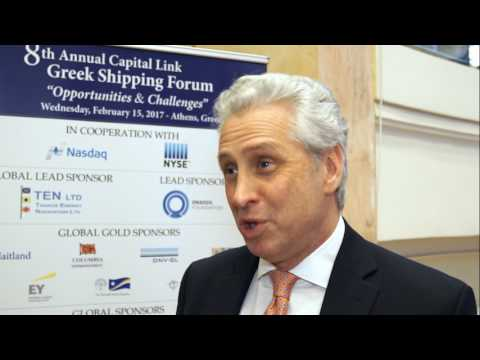 2017 8th Annual Greek Shipping Forum Interview-Robert Lustrin