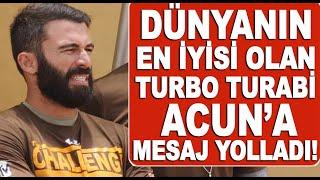 Turabi'den Acun'a mesaj! The Challenge yarışmasında şampiyon oldu!