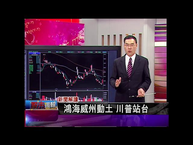 股市周報*曾鐘玉20180701-5【川普為鴻海站台 漲價概念股還能旺?】(黃漢成)