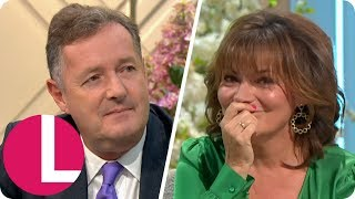 Piers Morgan Asks Lorraine Why She Gave Esther McVey the Cold Shoulder | Lorraine