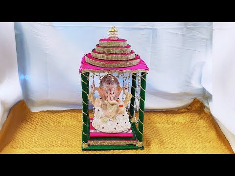 God Temple (mandir) || how to make god temple at home || DIY