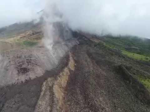 GMA News: Lava, pyroclastic flow fill Bonga Buyuan Gully, Mayon Volcano