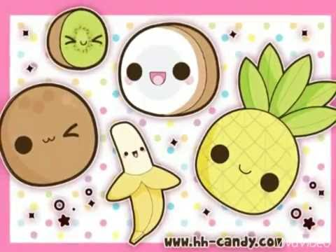 Sono kawaii dolci kawaii e ragazza manga youtube for Immagini disegni kawaii