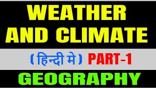 weather and climate geography