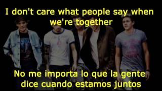 One Direction -  Happily español e ingles