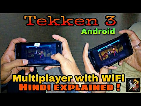 How to play Tekken 3 multiplayer on your Android devices (Hindi) |HINDI TECH ROOM