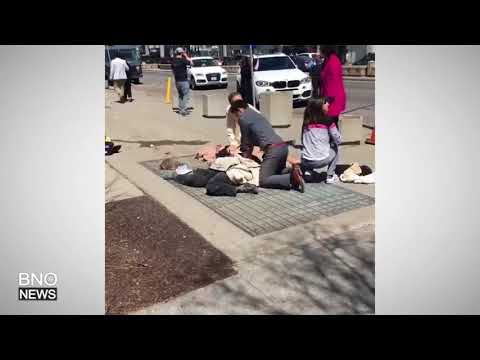 RAW VIDEO: Van Strikes Pedestrians in Toronto, at Least 8 Injured