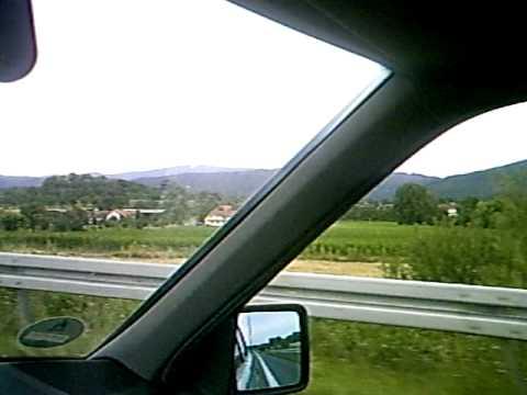02 08 09 Gräfenhainichen Beim Brocken Aus Dem Auto Gefilmt Youtube