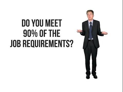 Should I Apply? Job Requirements