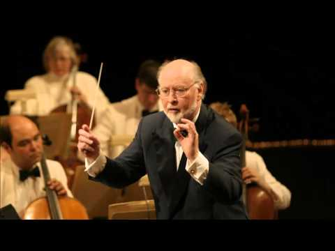 John Williams conducts Alexander Courage's Star Trek TOS Theme