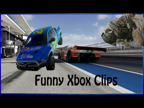 Funny Xbox Clips (Forza,The Crew,Rainbow 6 And PVZ)  100 Subscriber Special