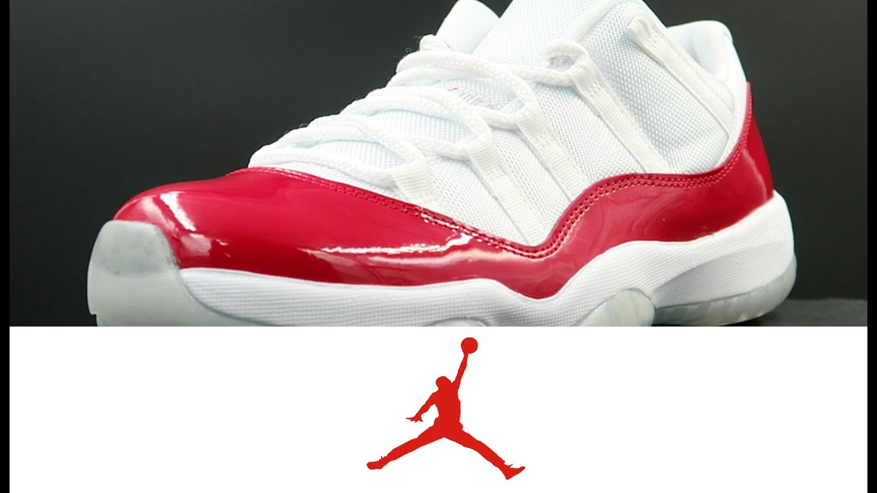 ac3d14df97b6 Air Jordan 11 Retro Low  Varsity Red  - YouTube