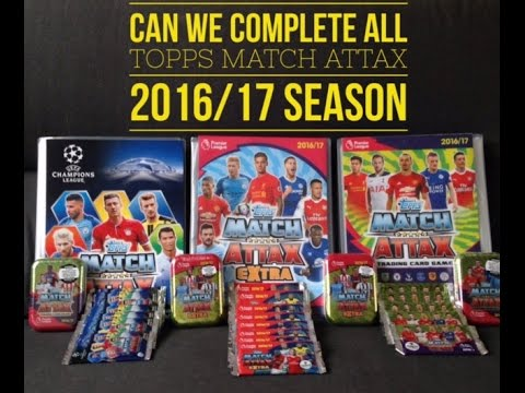 Last Chance To Complete Topps Match Attax Premier League, UEFA Champions League & Extra