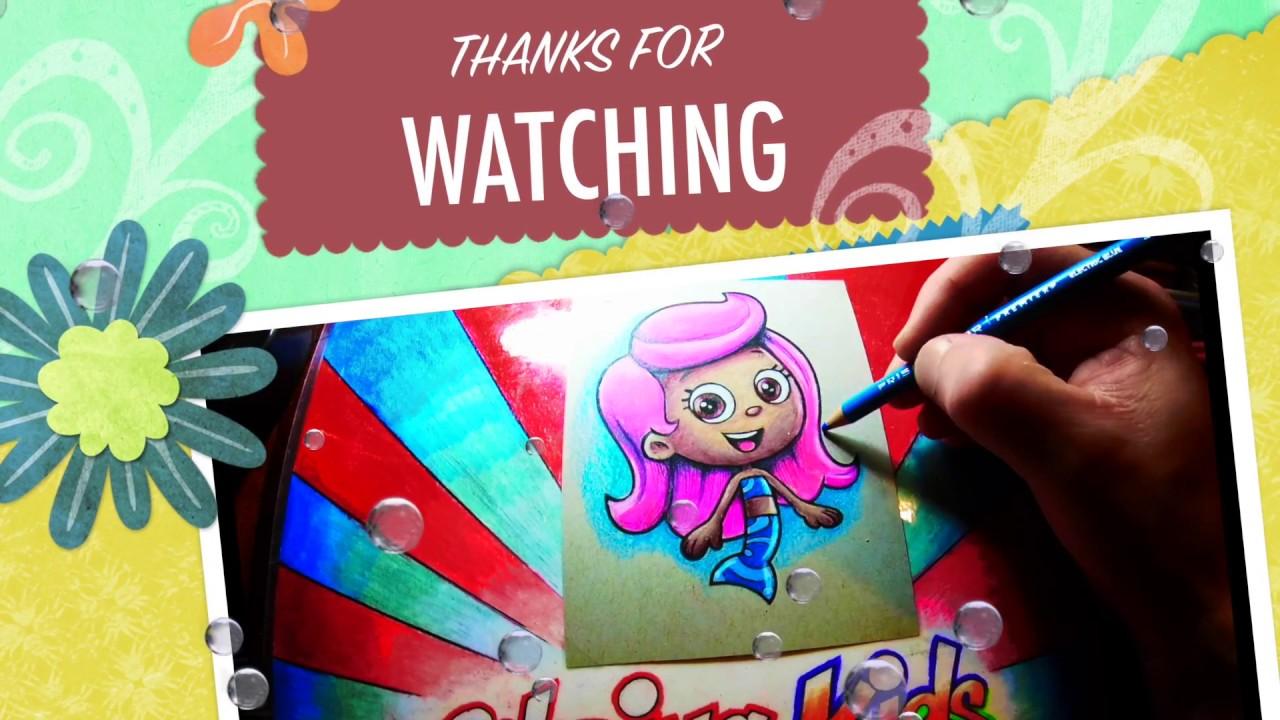 Increíble Dibujos Animados De Guppies De Burbujas Para Colorear Foto ...