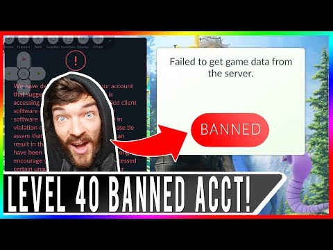 LEVEL 40 MAIN ACCOUNT BANNED IN POKEMON GO! THIS IS DEVASTATING! POKEMON GO BAN WAVE