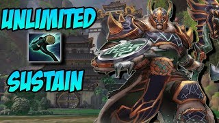 Download lagu THE UNLIMITED SUSTAIN RUSSIAN CHAAC BLACKTHORN BUILD GrandMasters Ranked Duel SMITE MP3
