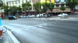 アキーラさん市街地散策②スペイン・マドリッド・王立サンフェルナンド美術院近く!Near Royal San-Fernand-Academy,Madrid,Spain