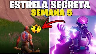 HOW TO CATCH SECRET STAR WEEK 5 SEASON 9-FORTNITE ‹ NTS ›