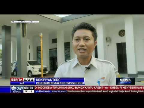 74 Perjalanan KA Daop 4 Semarang Dibatalkan