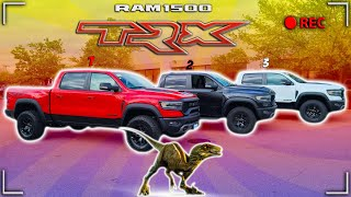 OUT OF THESE 5 RAM TRX I CANT DECIDED WHAT COLOR I WANT 🤔