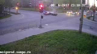 Вчернее лобовое на ул.Зайцева, петрозаводск