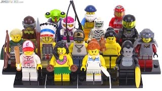 LEGO Series 3 Collectible Minifigs from 2011 reviewed!