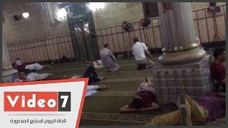 بالفيديو.. سر نوم الصائمين بمسجد الحسين بعد صلاة الظهر