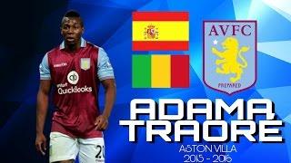 Adama Traoré | REVIEW | ASTON VILLA | 2015/2016 HD - AMADscoutHD