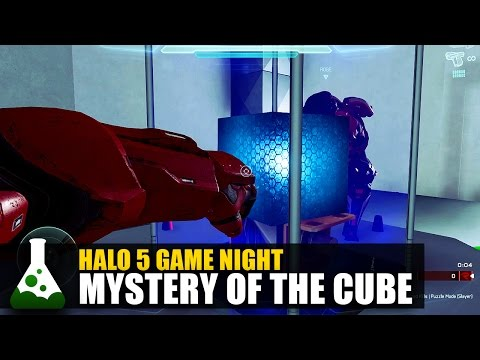 The Mystery Of The Cube - Halo 5 Puzzle Map!