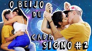 O BEIJO DE CADA SIGNO #2