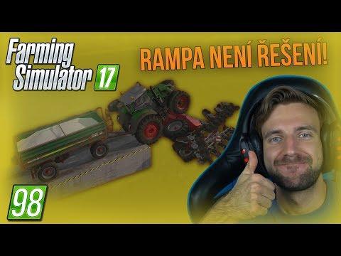RAMPA NENÍ ŘEŠENÍ! | Farming Simulator 17 #98 thumbnail