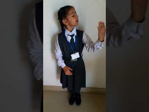 Hindi story competition. First prize winner. Simar sodhi. 6 years old.
