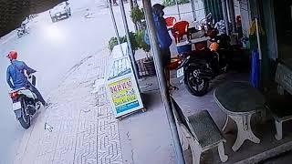 Xe mất trộm tại khu vực ngã 4 Tân Quy Củ Chi