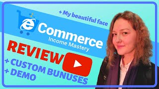 E-commerce Income Mastery with PLR ⚠️WARNING ⚠️ FREE BONUSES [E-commerce Income Mastery Review]