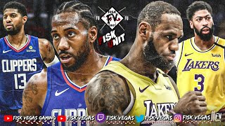 Lakers vs Clippers Live stream hangout! Lebron bout to body Kawhi!