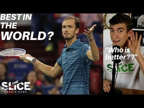Is Daniil Medvedev The Best Player in the World? | THE SLICE