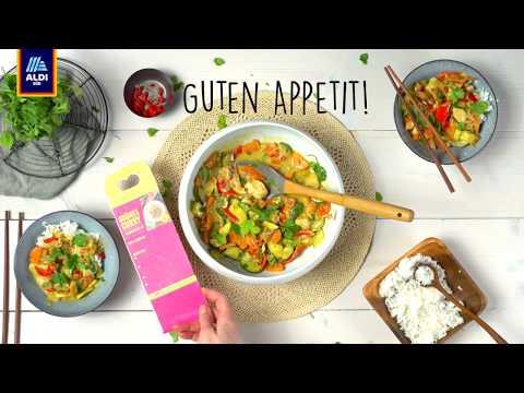 Rezept: Kochbox Grünes Curry | ALDI SÜD