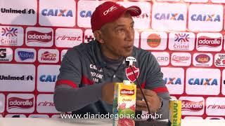 Vila Nova: Hemerson Maria fala sobre empate contra Figueirense no Estádio Serra Dourada