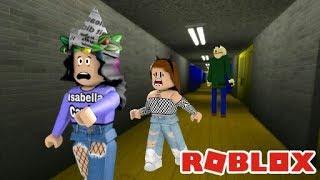 Roblox the BALDI is TRYING to KILL US! (Baldi's Basics)
