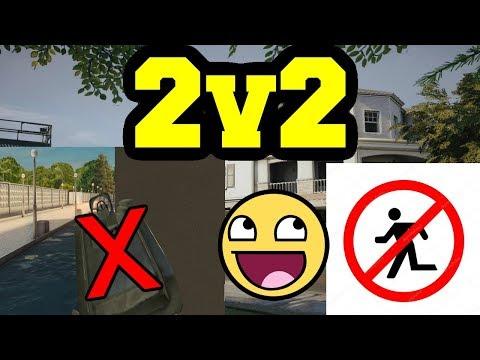 2v2 senza CORRERE e senza LEAN + 200 di VITA - Rainbow six siege