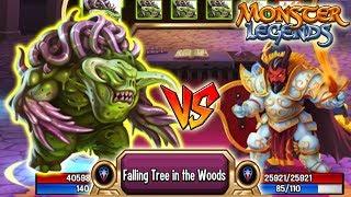 🔴Monster Legends - Fatid 130 vs Warmaster Barbael 130 team race ◉‿◉ đánh giá chiến đấu