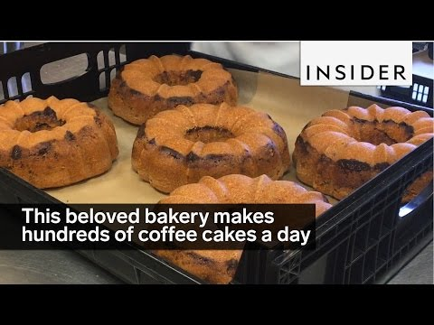 This Beloved Bakery Makes Hundreds Of Coffee Cakes A Day