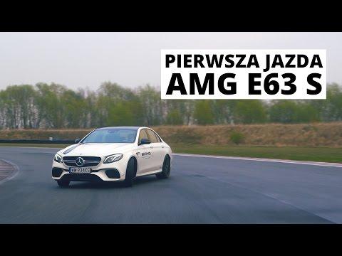Mercedes-AMG E63 S - pierwsza jazda