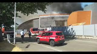 Incendio Centro Commerciale Ponte a Greve